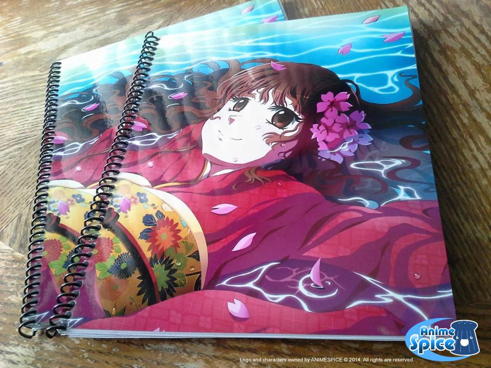 Floating Sakura Notebooks - AnimeSpice